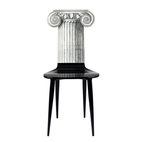 Fornasetti Chair Capitello Jonico