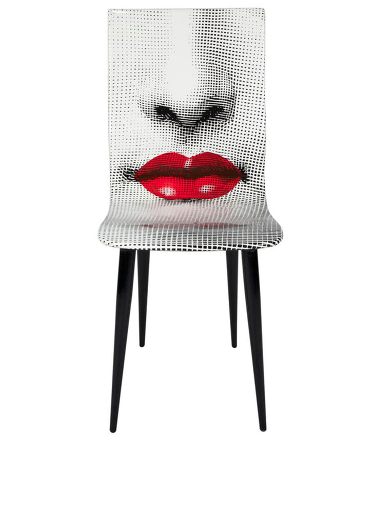 FORNASETTI Chair Bocca (Red Lips)