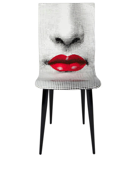 FORNASETTI <br/> Chair Bocca (Red Lips)