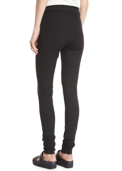 URBAN ZEN Stretch Linen Skinny Pant (Black)*