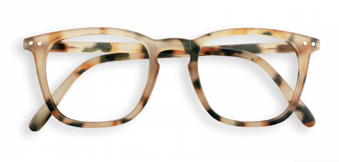 IZIPIZI Light Tortoise Reading Glasses (#C)