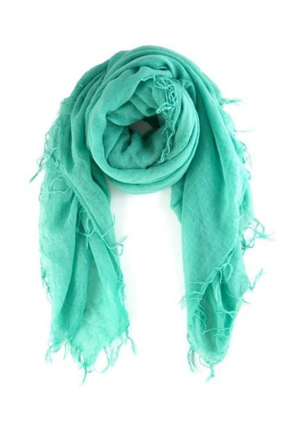 CHAN LUU Cashmere and Silk Scarf (Spearmint)