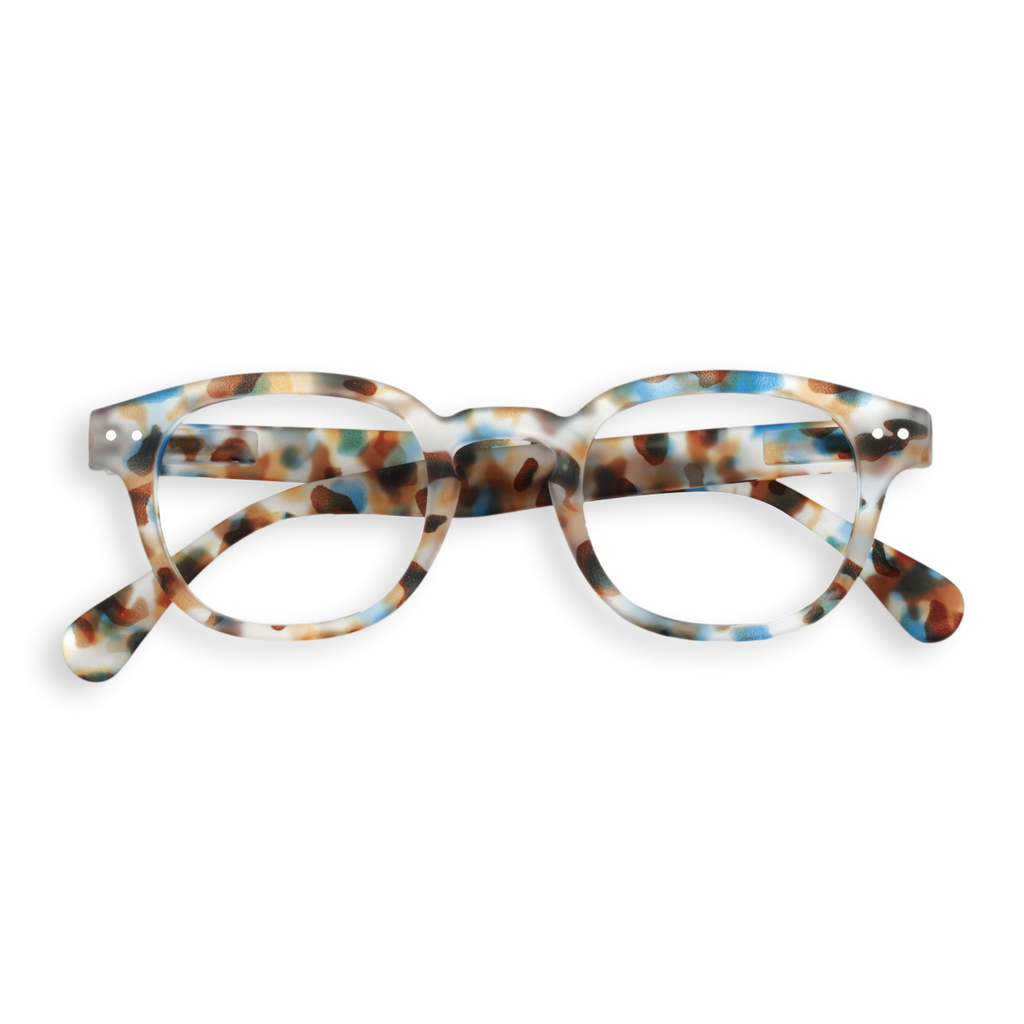 IZIPIZI Blue Tortoise Reading Glasses (#C)