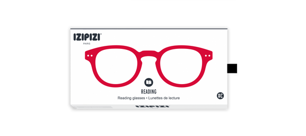 IZIPIZI - Reading Glasses (Red Crystal) (#C)