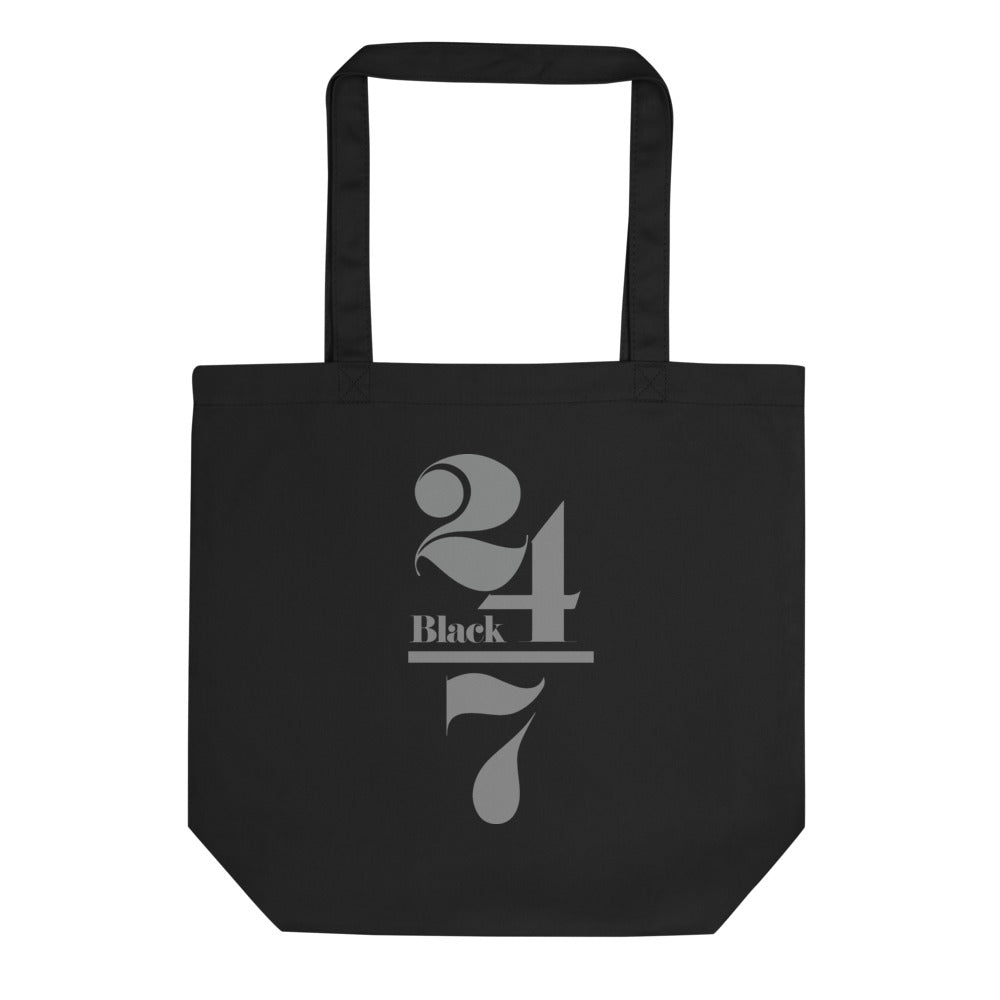 Black 24/7 Tote Bag