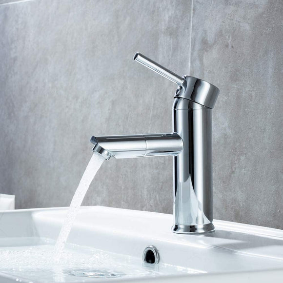 mitigeur lavabo chrome