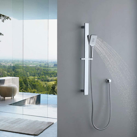 homelody Barre de douche ajustable