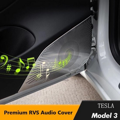 Tesla Model 3 Audio Cover Set Interieur Styling Auto Accessoires Nederland en België