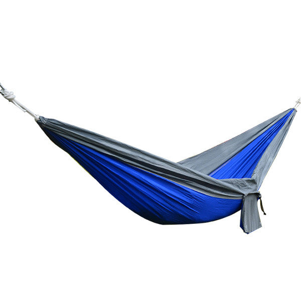 Double Hammock Reinforced Upgraded Ultra-Light For Outdoors & Camping