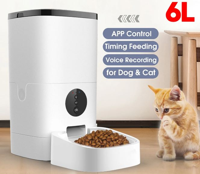 6L Smart Automatic Pet Feeder