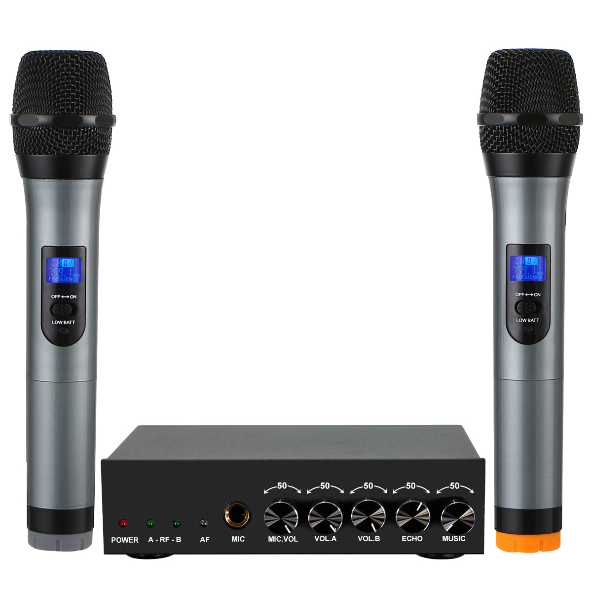 Bluetooth Wireless Handheld Microphone System Home Karaoke Kit