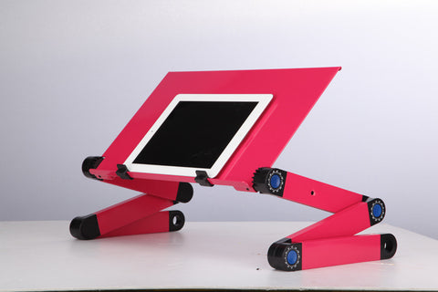 LappyDesk Adjustable and Foldable Laptop Desk