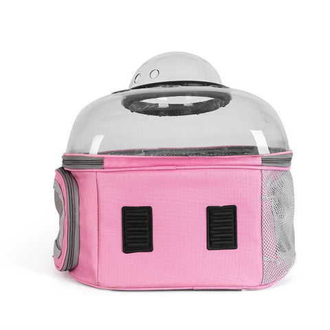 Space Kitty!™ Cat Bubble Backpack Carrier Clear With Window Astronaut Breathable Carrying Travel Bag Space Capsule Transparent Pet Bag Dog Cat Backpack