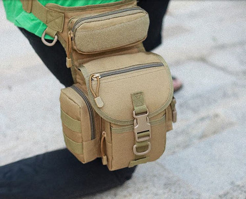 Waist Fanny Leg Bag Waterproof Military Tactical Bag