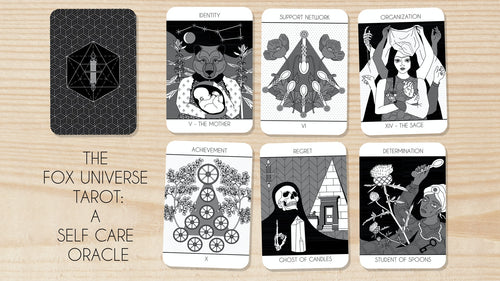 The Fox Universe Tarot Deck- A Self Care Oracle