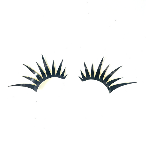 Black & Gold Lashes