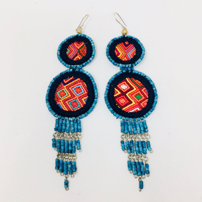 Talum Textile Earrings (ALL)