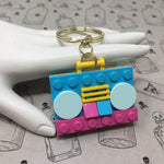 Dollz Boombox Lego Key Fob