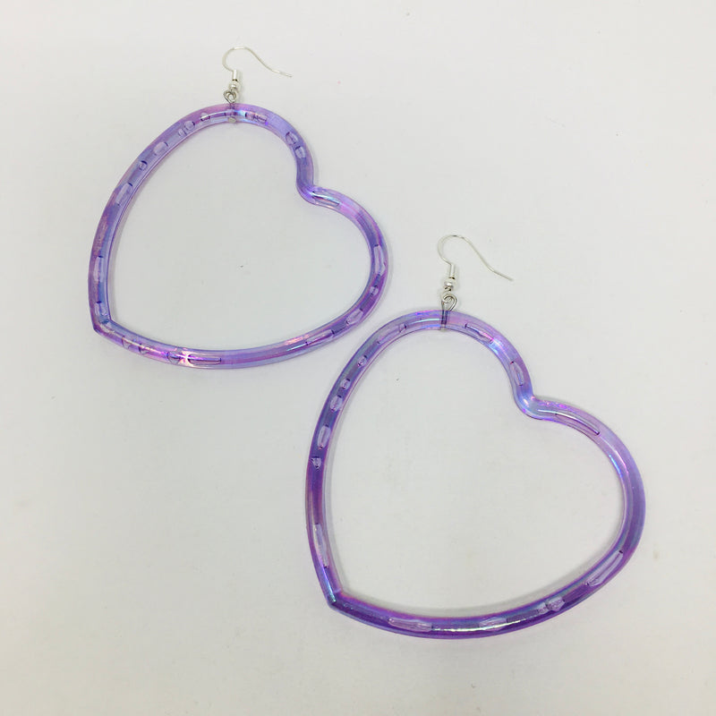 Sweetie Heart Bangle Earrings
