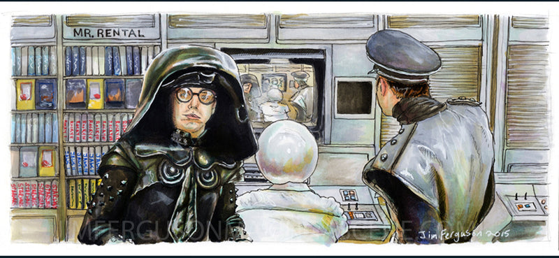 Spaceballs - Jim Ferguson Print