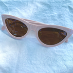 Mini Pastel Cat Eye Sunglasses
