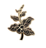 Coffee Berry Branch Pin