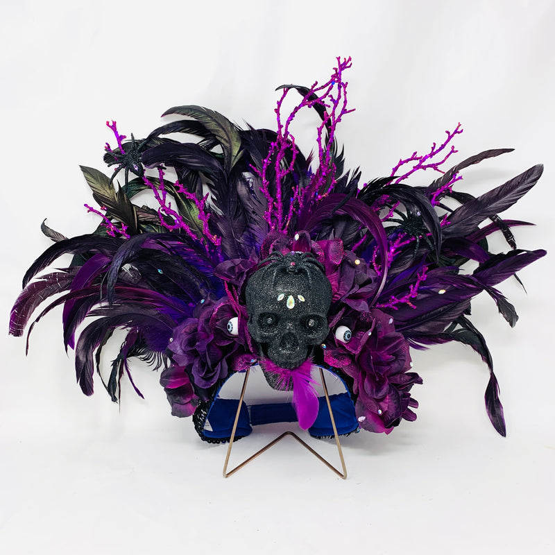 Whimsical Night Headdress