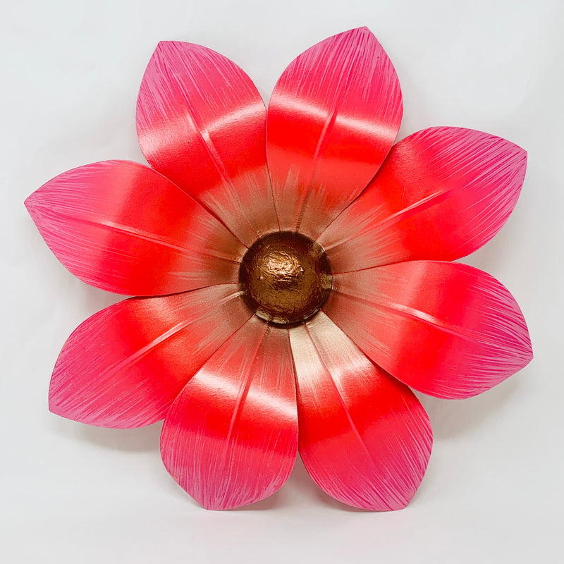 "18"" Small 8 petal pointed Helio House Float Carnival Flower"