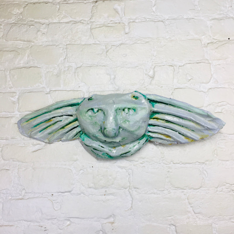 Gargoyle Wall Relief Sculpture - Mint