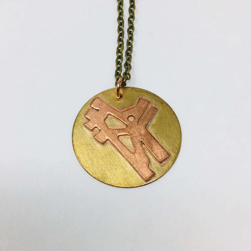 Loyola and Howard Street Crossing Necklace