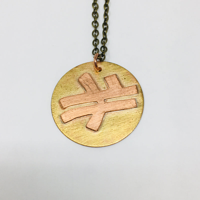 Rampart, McShane, St. Bernard, and Colombus Street Crossing Necklace