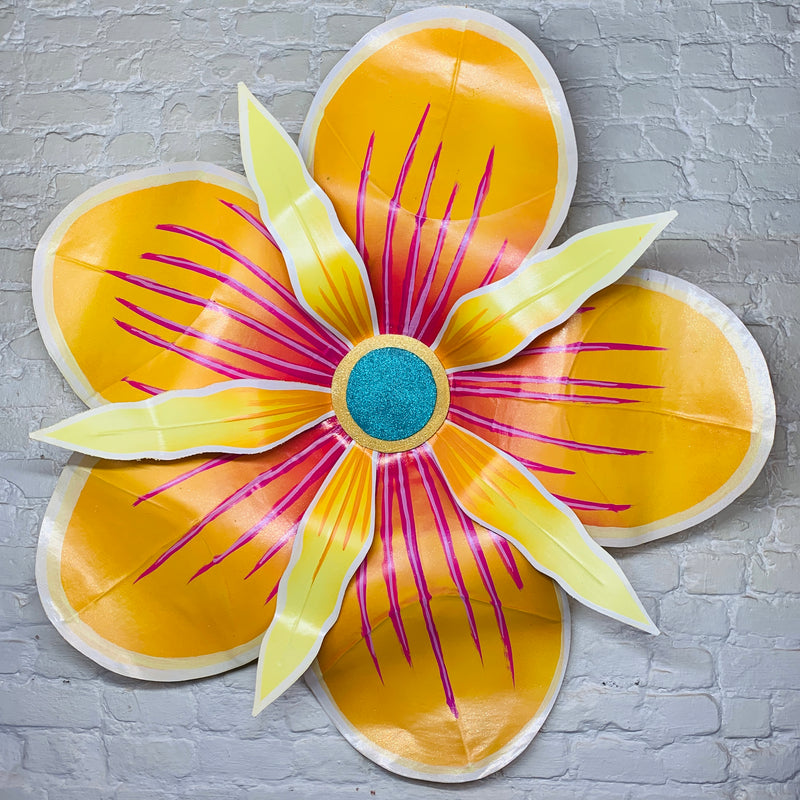 "48""  Joy Yellow House Float Carnival Flower"