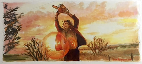 The Texas Chain Saw Massacre Print
