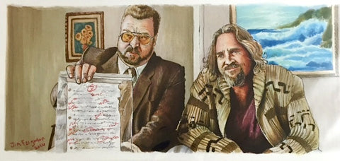 The Big Lebowski Print
