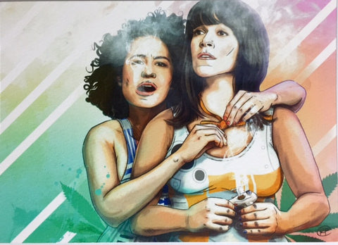 Broad City Babes Print