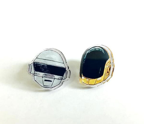 Funky Robot Earrings
