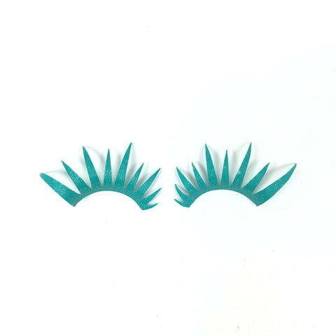 Teal Lashes
