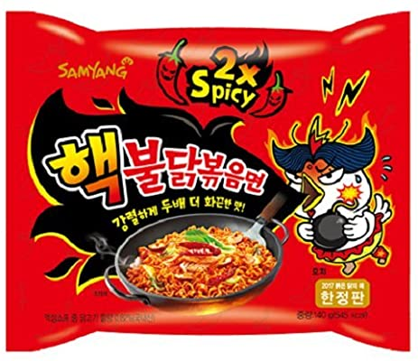 Samyang 2xSpicy Hot Chicken Ramen 140g