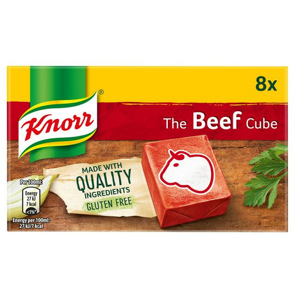 Knorr Beef Stock Cubes 80g
