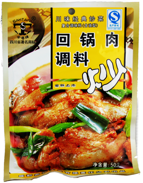 ST Twice Cooked Pork Stir Fry Sauce 50g