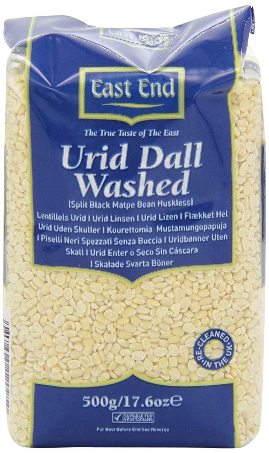 East End Urid Dall Washed 500g