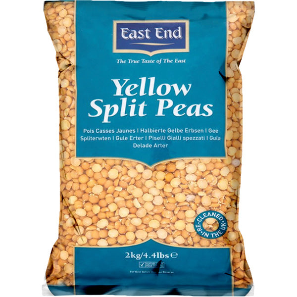 East End Yellow Split Peas 2kg