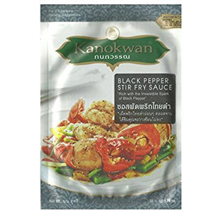 Kanokwan Black Pepper Stir Fry Sauce 50g