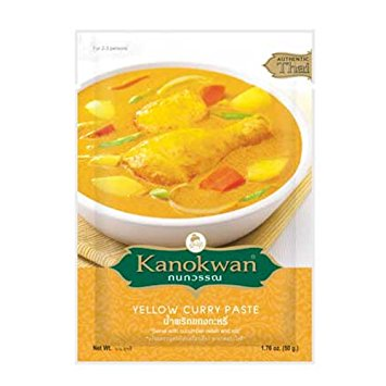 Kanokwan Curry Paste Yellow 50g