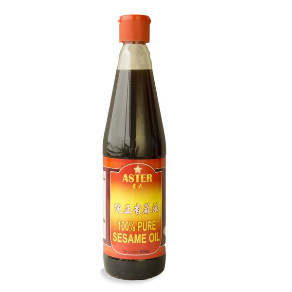 Aster 100% Pure Sesame Oil 650ml