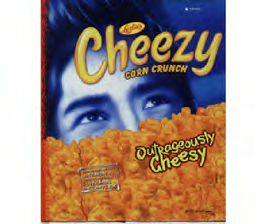 Cheezy Outrageously Cheesy 70g