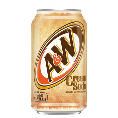 AW Cream Soda 355ml