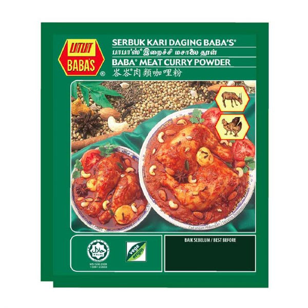 Babas Malaysian Curry Powder 250g