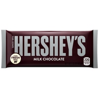 Hersheys Milk Chocolate 1.55oz (43g)