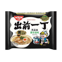Nissin Black Garlic Pork Flavour 100g
